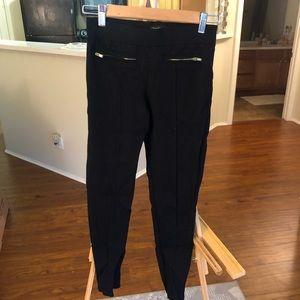 Gold and black pant/leggings